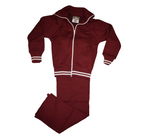 Maroon & White Tracksuit