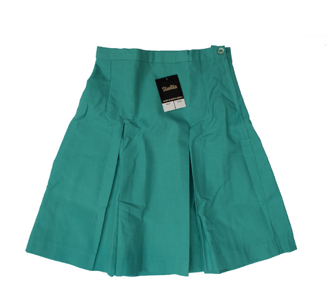 Pleated Jade Skirt