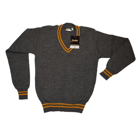 Grey & Gold Jersey