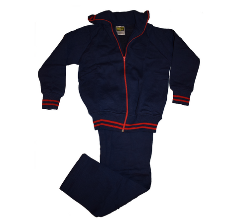 Navy Blue & Red Tracksuit