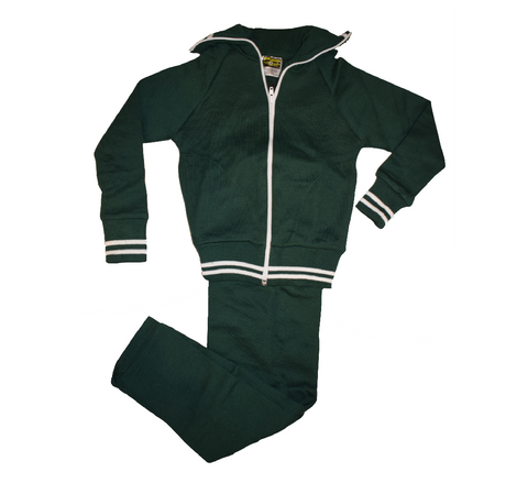 Green & White Tracksuit