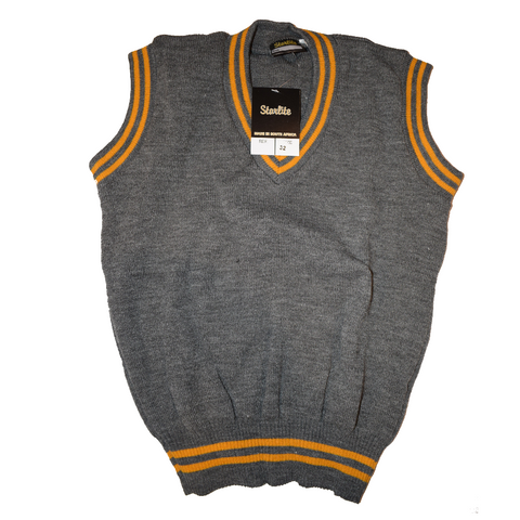 Grey & Gold Pullover