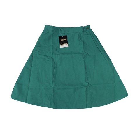 Plain 6 Panel Jade Skirt