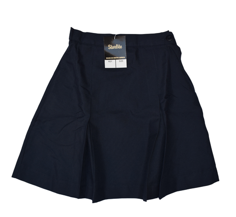 Pleated Navy Blue Skirt