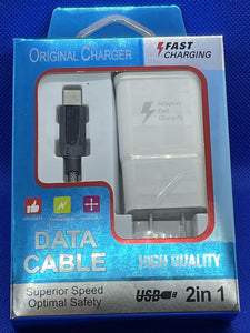 2 in 1 Fast Charging Kit - One Stop Case L.L.C.