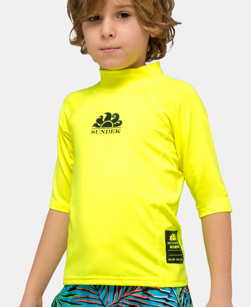 SUNDEK UPF 50+ CREW NECK RASH GUARD
