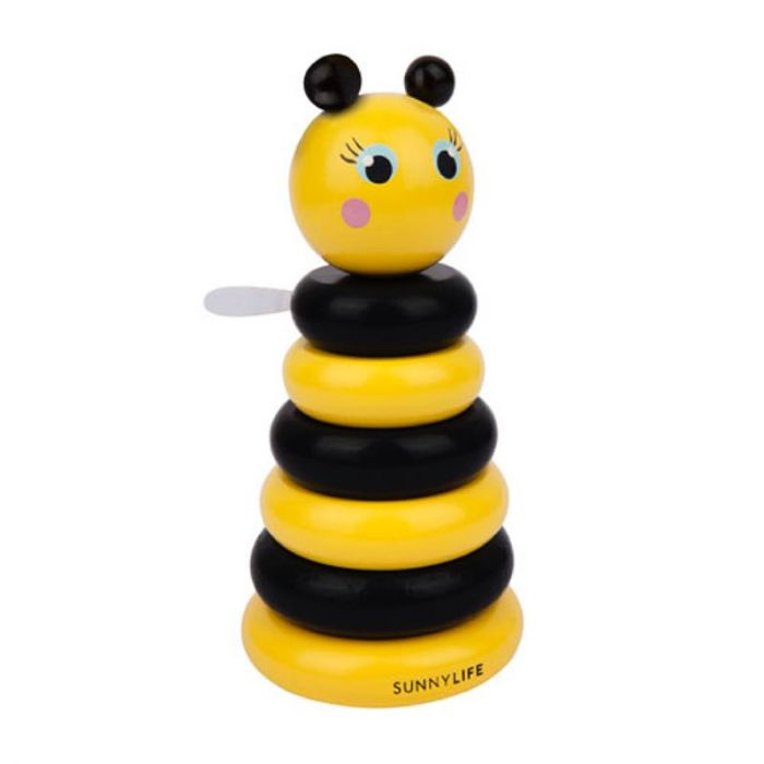 SUNNYLIFE BEE STACKING TOY