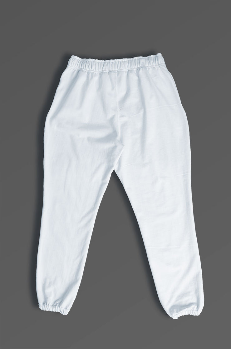 Pantalón oversized unisex color blanco
