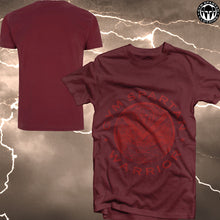 Load image into Gallery viewer, GSC Cotton Red Spartan Shield T-Shirt (Various Colours Available)
