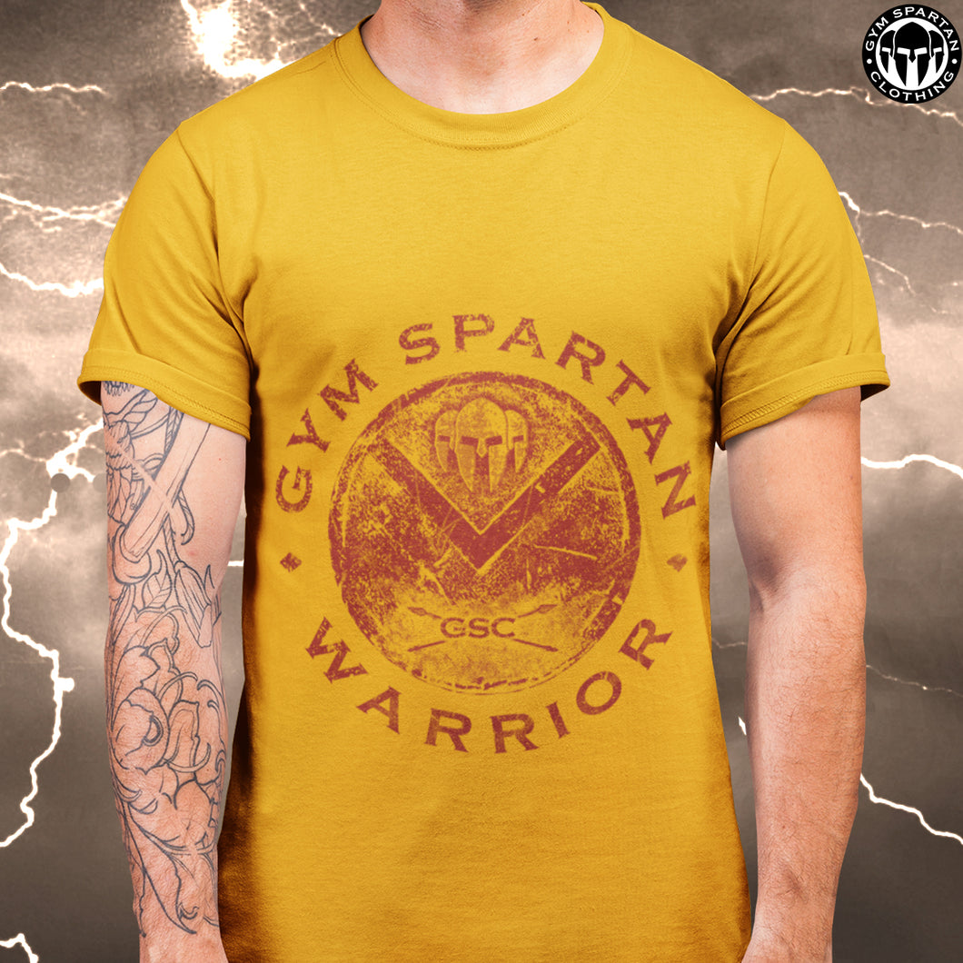 GSC Cotton Red Spartan Shield T-Shirt (Various Colours Available)