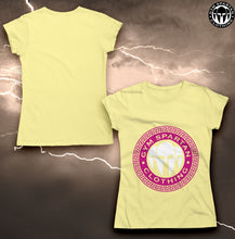 Load image into Gallery viewer, GSC Cotton Roman Logo Ladies T-Shirt