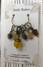 Load image into Gallery viewer, Woodland Stitch Markers