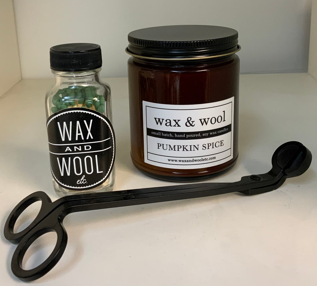Wax and Wool Candles