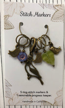 Load image into Gallery viewer, Springtime Bird Stitch Markers