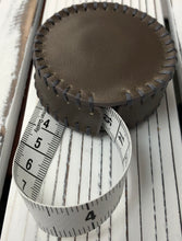 Load image into Gallery viewer, Hand Stitched Leather Tape Measure