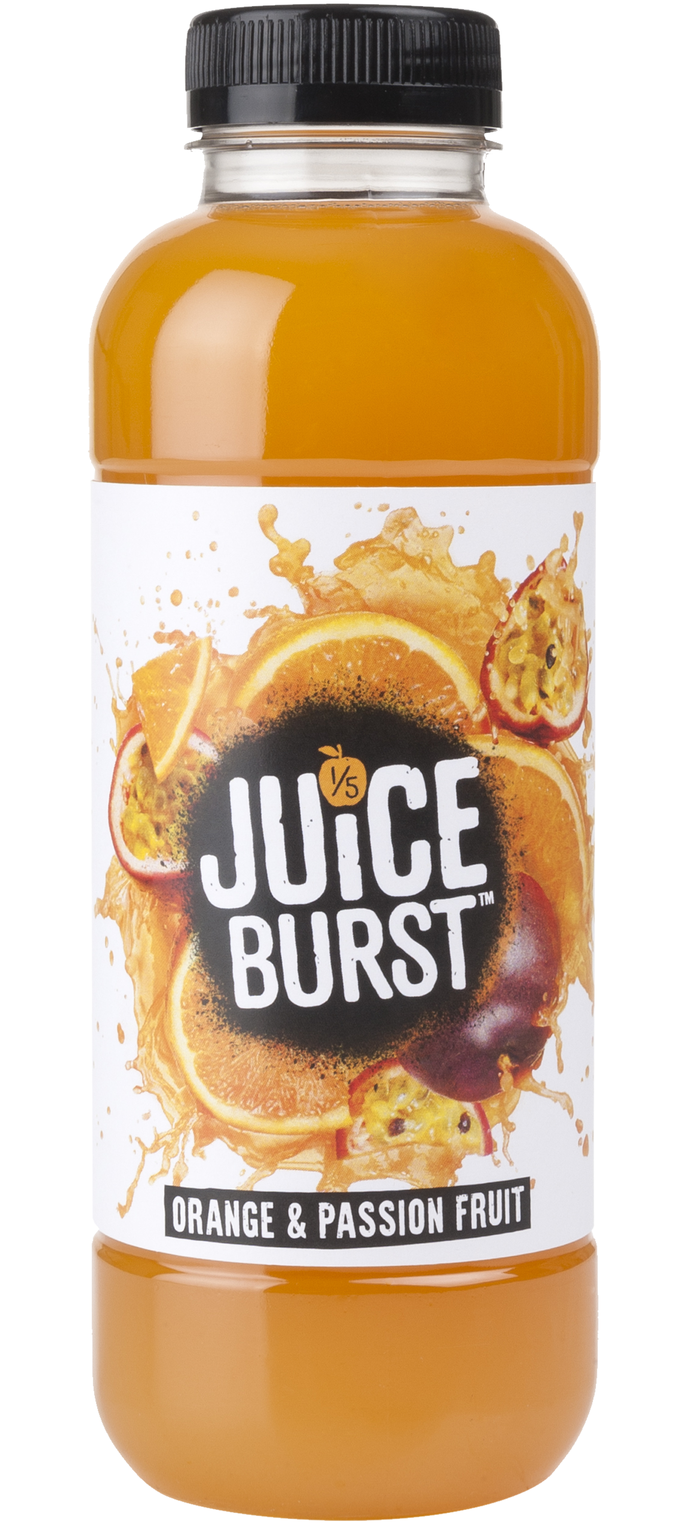 ORANGE & PASSION FRUIT 500ml (12 Pack)