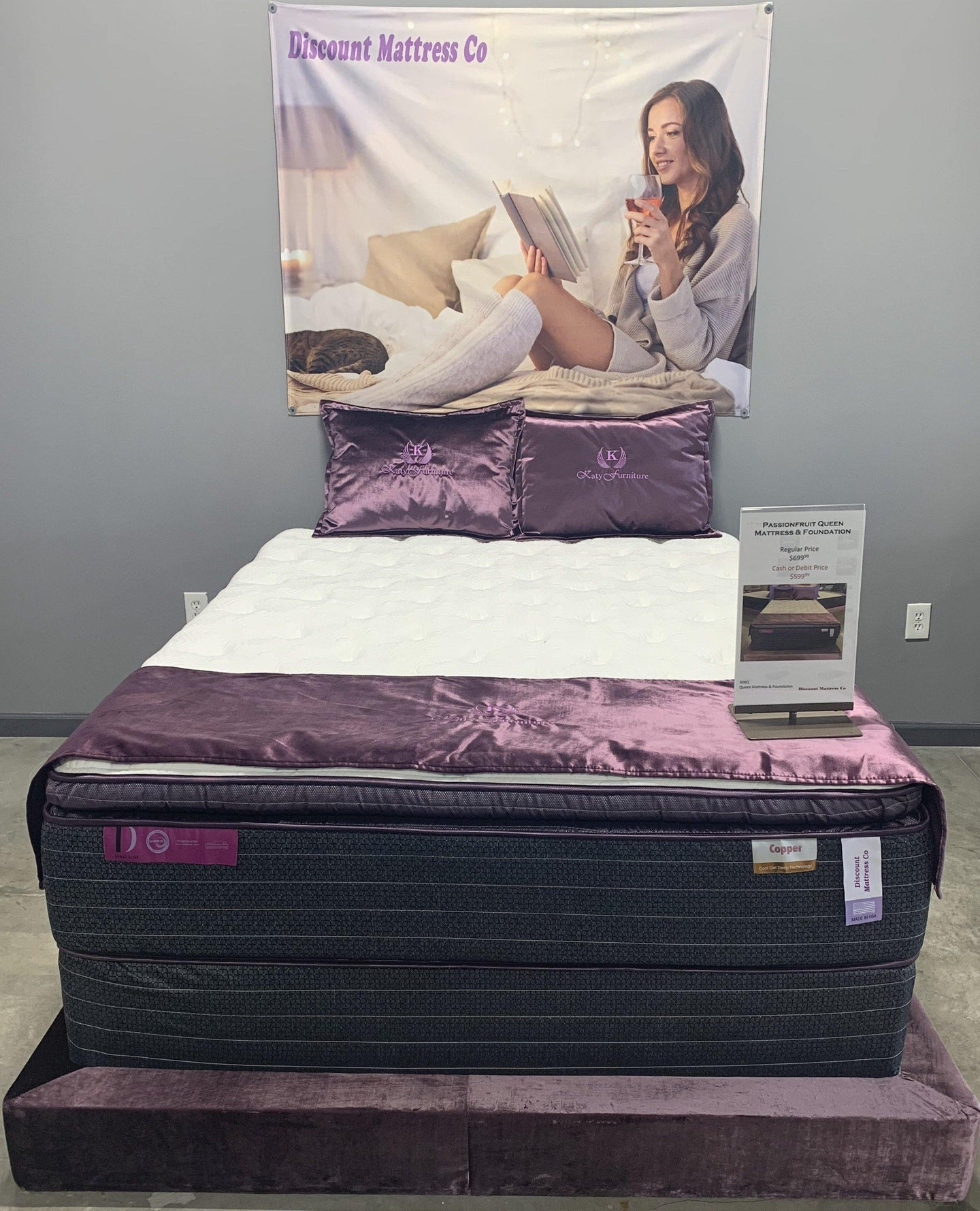 Passionfruit Mattress and Foundation - Discount Mattress Co