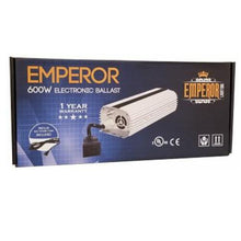 Load image into Gallery viewer, Emperor E-Ballast 600W MH / HPS 120 / 240V - GrowDudes