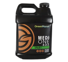 Load image into Gallery viewer, GreenPlanet Nutrients Medi One (N)4  (P) 3 (K) 3