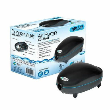 Alfred Hydroponic Air Pump 1 Outlet 108L / H 3W - GrowDudes