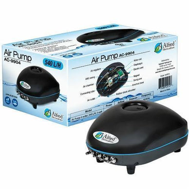 Alfred Hydroponic Air Pump 4 Outlets 540L / H 5W - GrowDudes