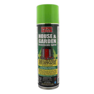 Doktor Doom House & Garden Insecticide Spray 515g - GrowDudes