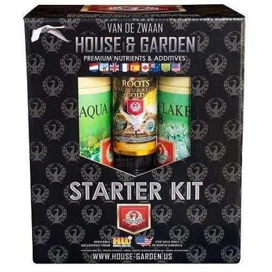 House & Garden Starter Kit Aqua Flakes - GrowDudes