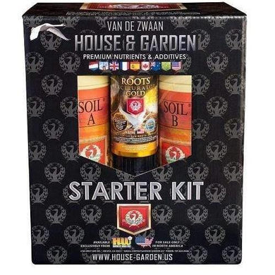 House & Garden Starter Kit Soil - GrowDudes