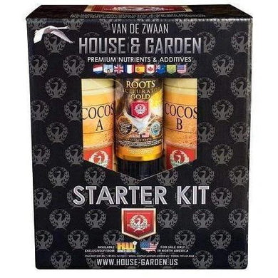 House & Garden Starter Kit Cocos - GrowDudes