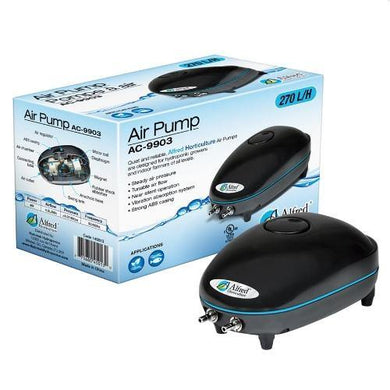 Alfred Air Pump 2 Outlets 270L / H 4W - GrowDudes