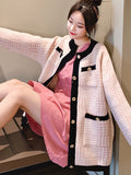 Knit Cardigan Temperament Jacket