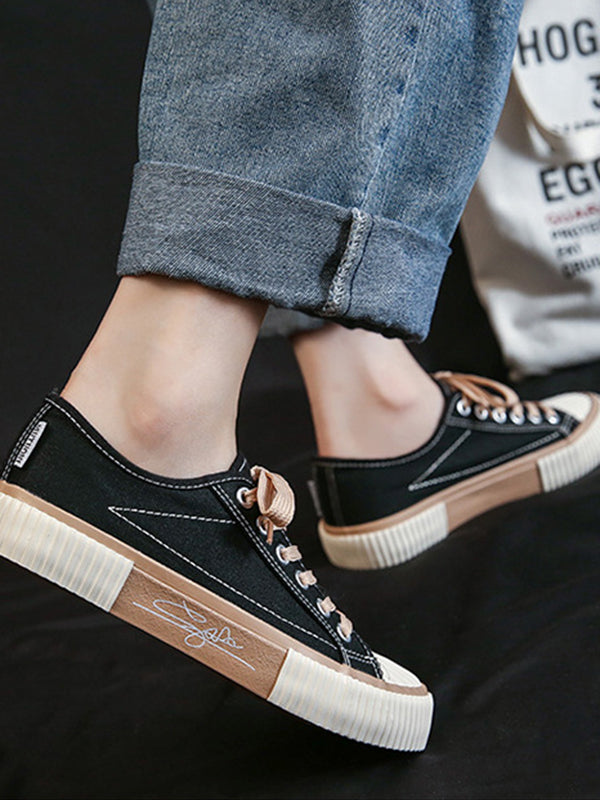 2021 New Trend Low Top Canvas Shoes