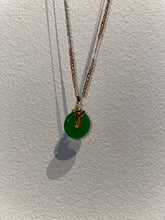 "Load image into Gallery viewer, ""Jade Luck Charm"" Buddha Necklace"