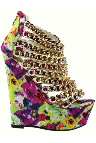 Caked Up Wedges by Nelly Bernal