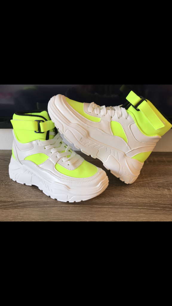 Neon City Girl Sneakers