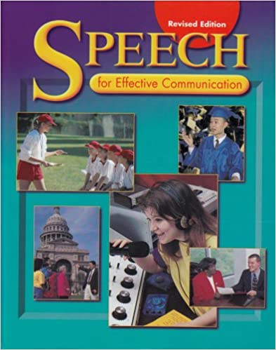 Speech for Effective Communication (Revised)