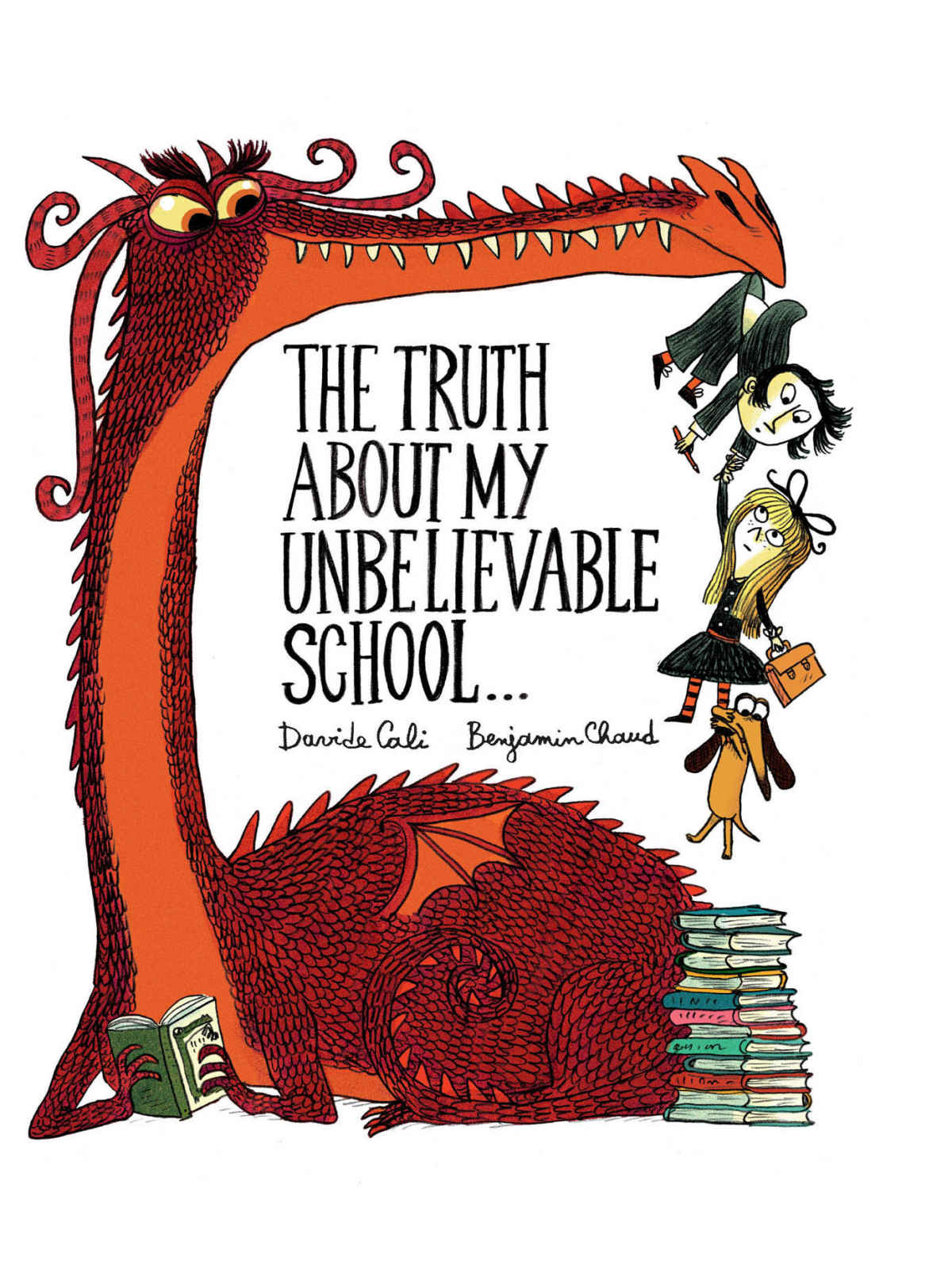 The Truth About my Unbelievable School... Book