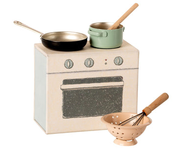 Cooking Set for Dollhouse