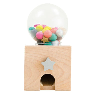 Wooden Gumball Dispenser