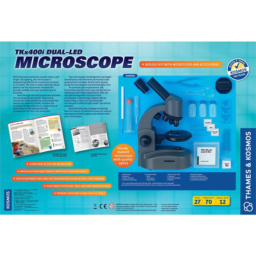 TKx400i Dual-LED Microscope