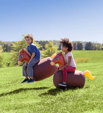 Inflatable Ride-On Hop 'n Go set of 2