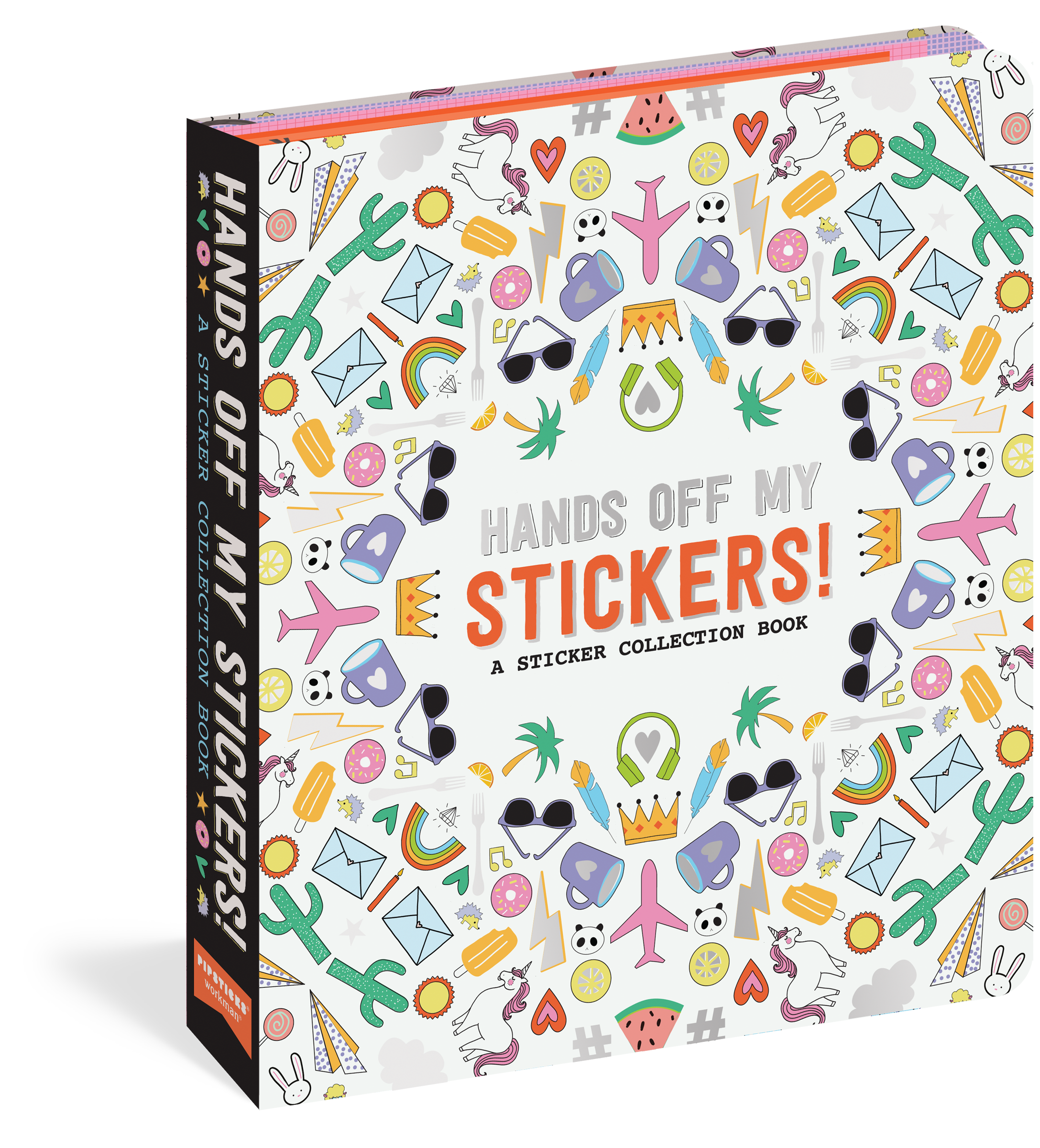 Hands Off My Stickers Book