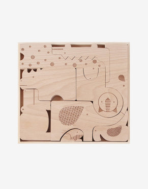 Safari Jumble Wooden Puzzle