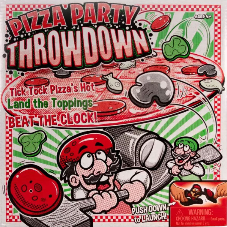 Pizza Party Throwdown Game