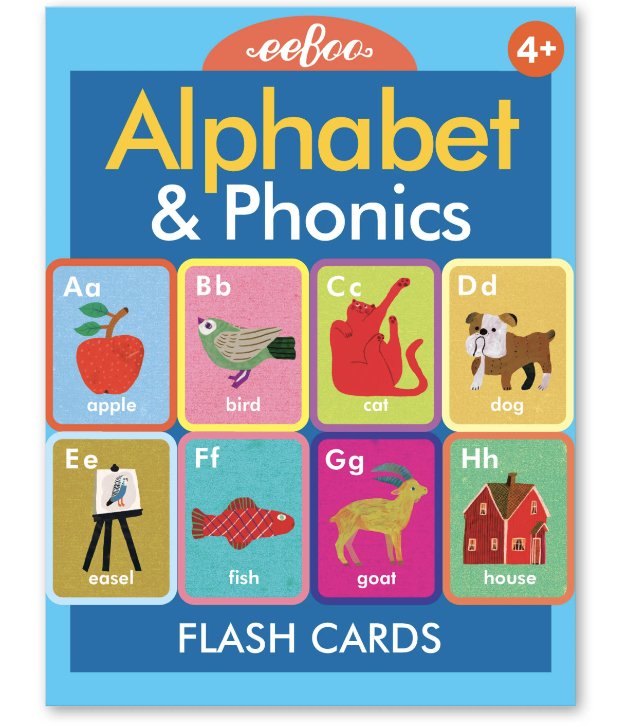 Alphabet & Conversation Flash Cards