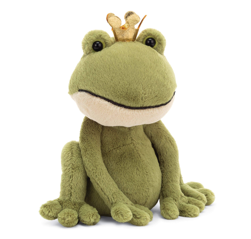 Felipe Frog Prince Stuffed Animal