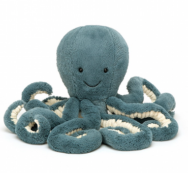 Storm Octopus Stuffed Animal