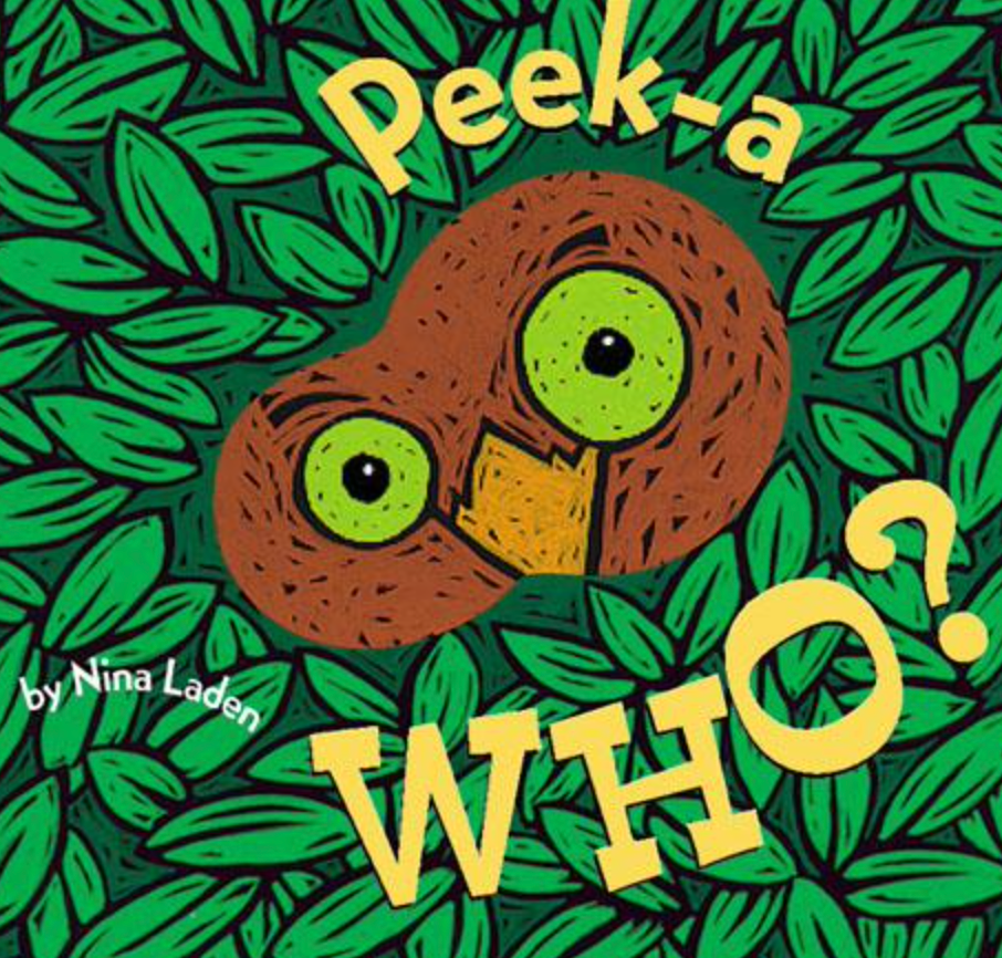 Peek-a Who Board Book