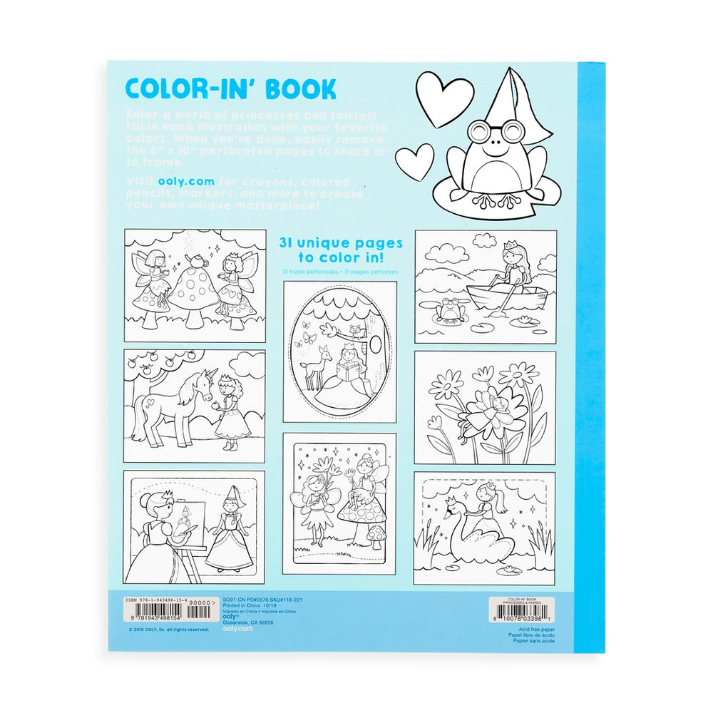 Color-In' Books