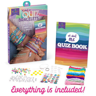 All About Me Quiz Bracelets Kit